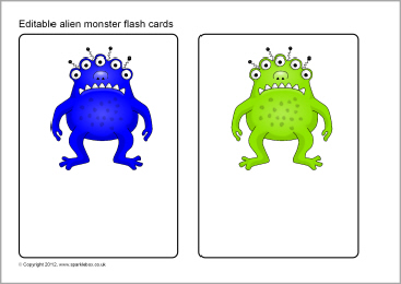 Monster Flashcards